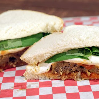 MICHAEL SYMON Meatloaf Parm Sandwich