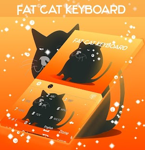 Fat Cat Keyboard - náhled