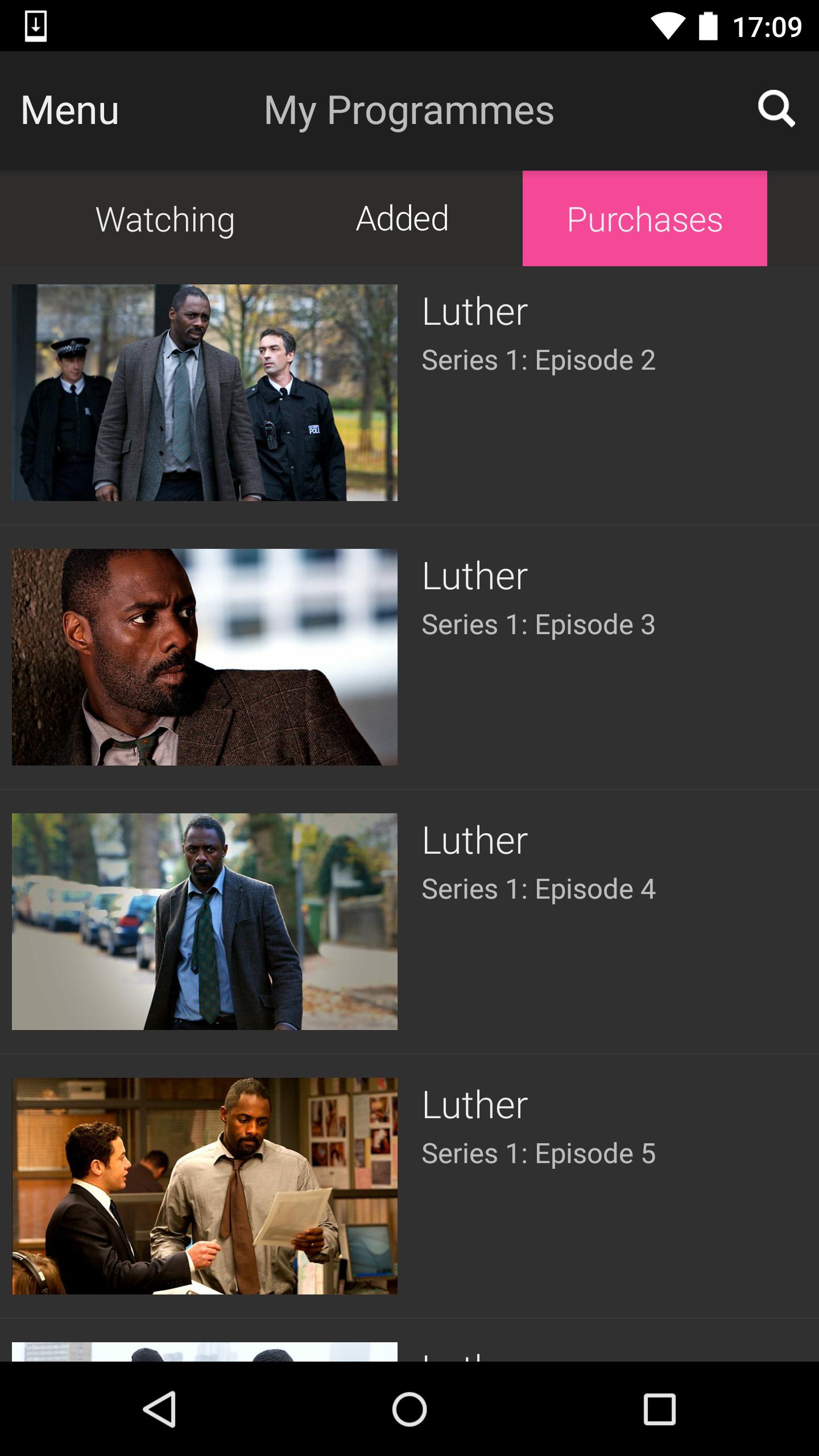 BBC iPlayer screenshot #5