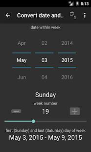 TKWeek - screenshot thumbnail