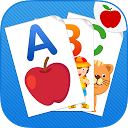 ABC Flash Cards for Kids Game mobile app icon