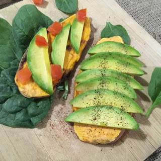 Sweet Potato Toast with Avocado