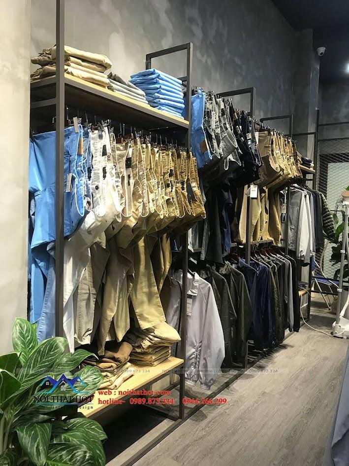 thiết kế thi công shop thời trang nam polido 8