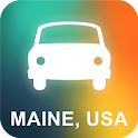 Maine, USA GPS Navigation icon