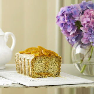 Caramel Orange and Poppy Seed Cake.