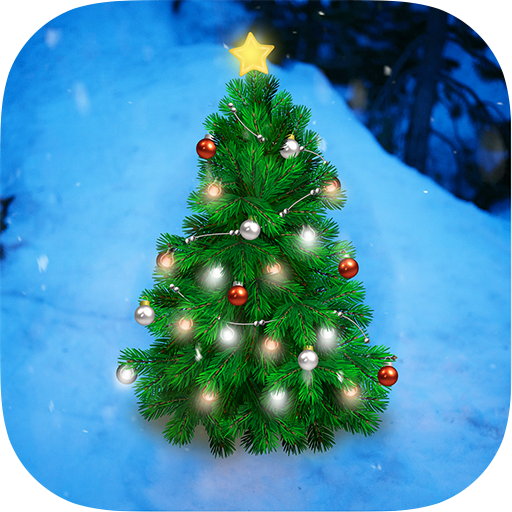 Christmas Tree Live Wallpaper app (apk) free download for Android/PC/Windows