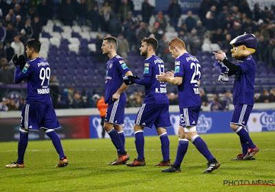 Les deux Anderlechtois et les deux Standardmen qui pourraient manquer le Clasico