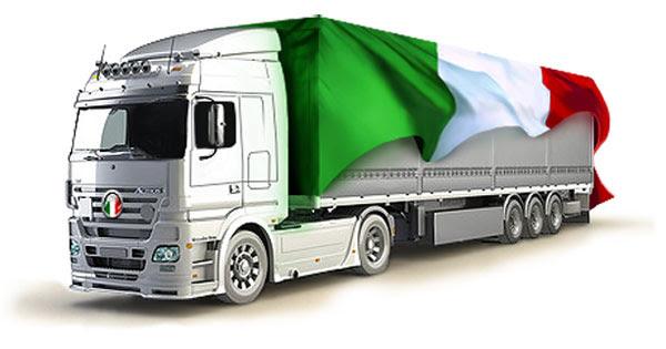 Автомобильные перевозки грузов из Италии