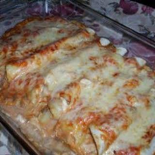 Chicken Enchiladas with a twist.