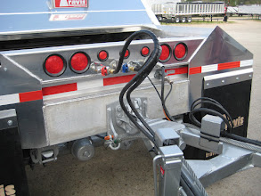 Photo: drawbar connection