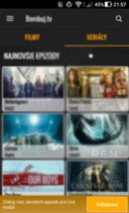 Filmy a seriály zadarmo - Bombuj - náhled