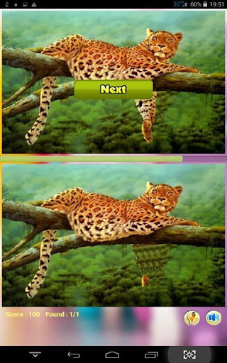 Cheetah Find Difference Game