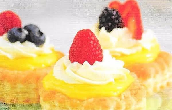 Lemon Drop Tartlets Recipe