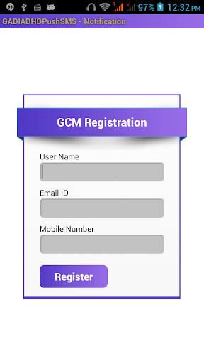Gadia Live market Sms Notify