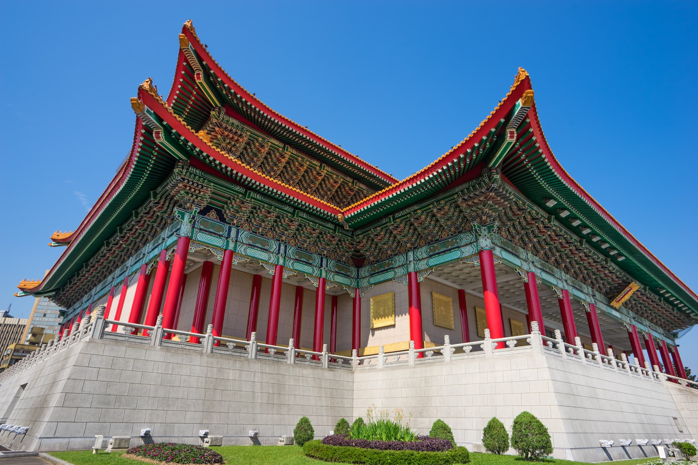 Taipei Chiang Kai-Shek Memorial Hall National Theater2