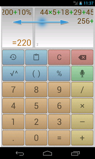 Multi-Scr Voice Calculator Pro v1.4.4