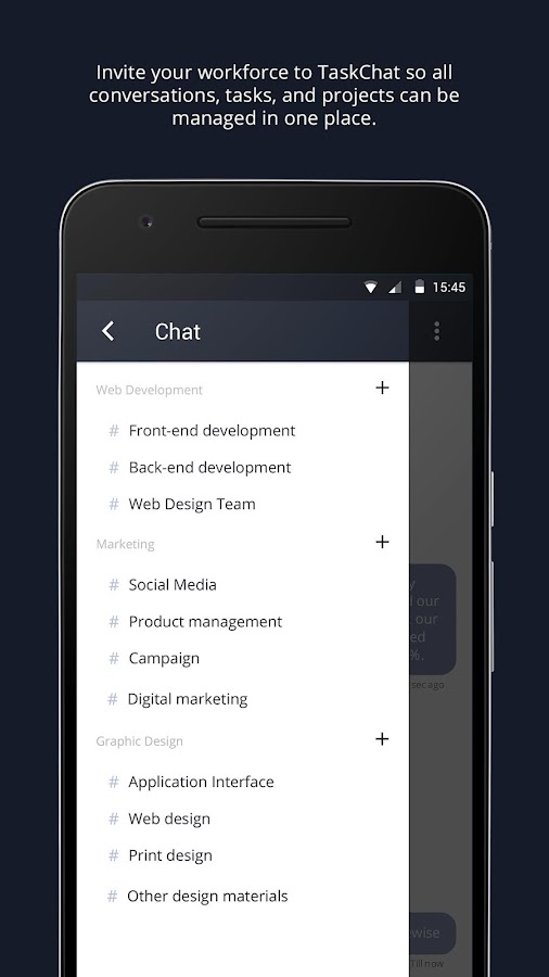 TaskChat- screenshot