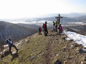 Photo: ... és fenn a Kopasz-hegyen.