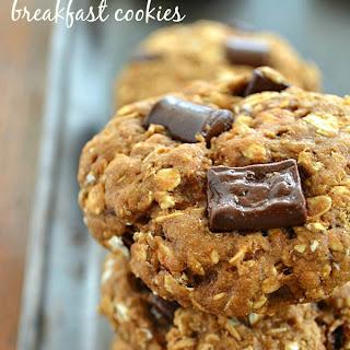 Healthy Banana Chocolate Breakfast Cookies