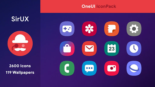 Screenshot for SirUX for OneUI - Icon Pack in United States Play Store