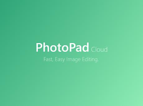 PhotoPad Photo Editor Cloud Edition
