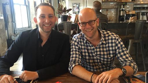 Sortd founders Rodney Kuhn and Wayne Silbermann.