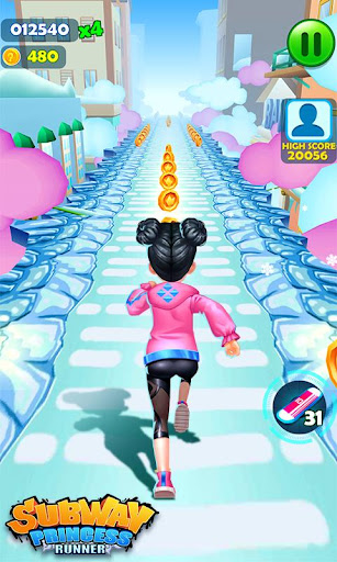 Subway Princess Runner  screenshots 5