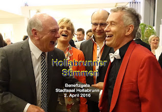 """Photo: Scherzen mit Dr. Erwin Pröll - frei """"aus dem Bauch heraus"""" ;-)"""