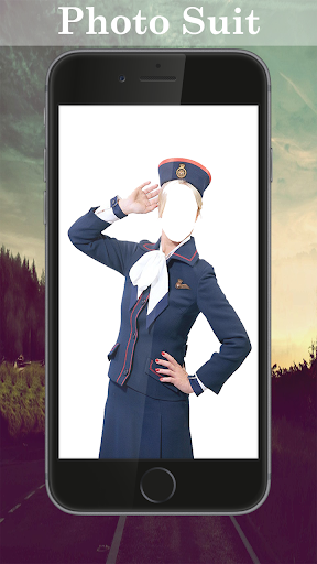 Air Hostess Photo Suit Editor for PC