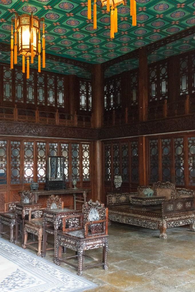 Зал в резиденции князя Гун, Пекин, 19 век