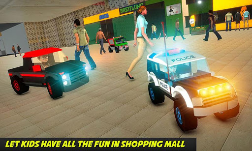 Shopping Mall electric toy car driving car games 1.1 1