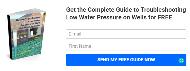 Troubleshoot Low Water Pressure On Well Water Systems  Fix Low Water