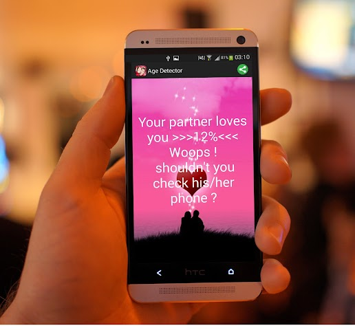 android True Love Fingerprint  Prank Screenshot 2
