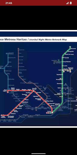 metro map: istanbul (offline) screenshot 3