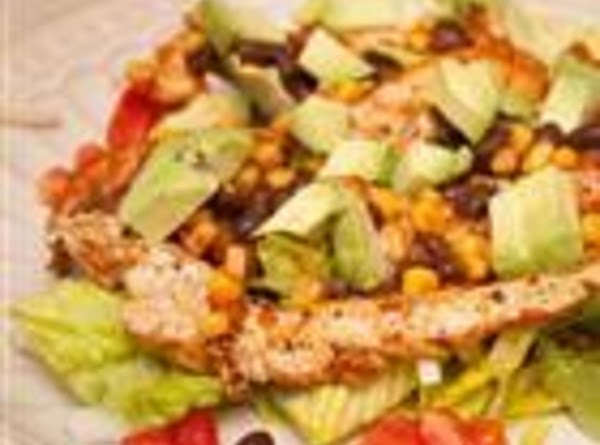 Chicken Fiesta Salad Recipe