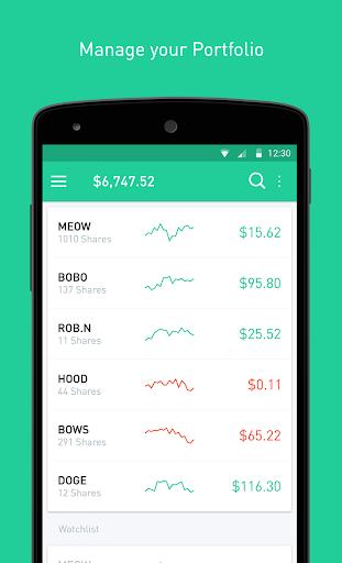 Robinhood - Free Stock Trading Screenshot