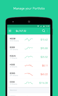 Robinhood - Free Stock Trading Screenshot 2