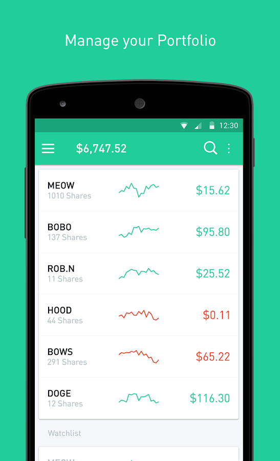 Robinhood - Free Stock Trading- screenshot