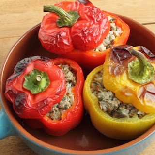 Armenian Stuffed Peppers.