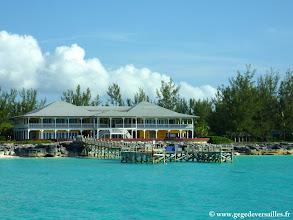 Photo: #001-Le Sea Center Seafari au Club Med de Columbus Isle sur l'île de San Salvador aux Bahamas.
