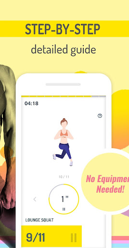 Abs Workout Pal - 7 Minutes Home Fitness App 1.2.4 screenshots 2