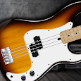 REAL BASS: Electric bass guitar icon
