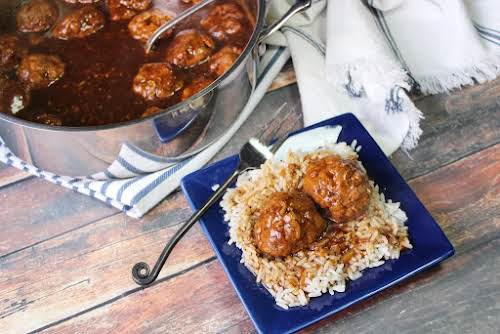 """Meatballs and Brown Gravy """"These Meatballs and Brown Gravy is a go..."""