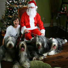 Photo: Mo and Santa Jean with Milis, Maise, Bella and Ohnee