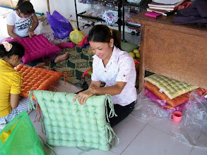 Photo: Workers at Tabitha, a Non-Governmental Organization that provides widows and orphans with jobs.