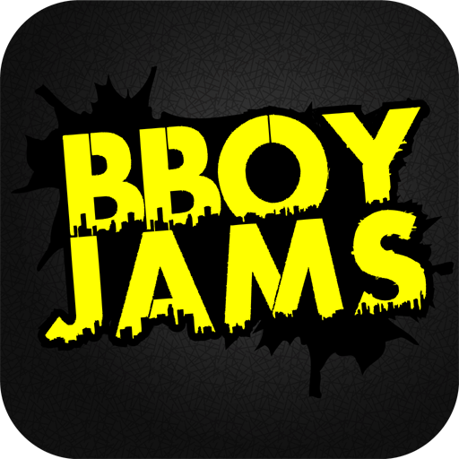 BBoy Jams -  Events & Training LOGO-APP點子