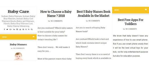 Trending Baby Names – Appar på Google Play