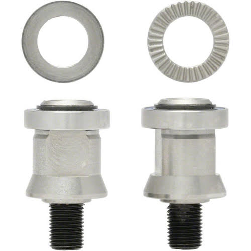 Surly Bill and Ted Hitch Mount Nuts for 10x1mm Solid Axles