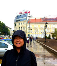 Photo: Sightseeing in the rain in Sofia.