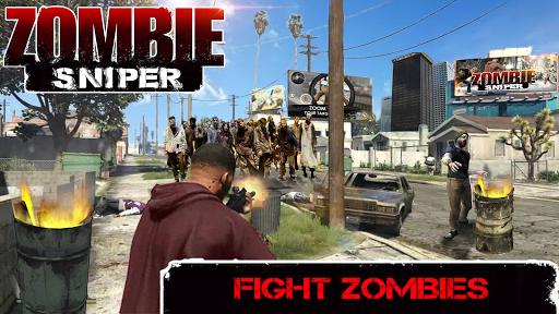 Zombie Sniper - Last Man Stand  screenshots 2